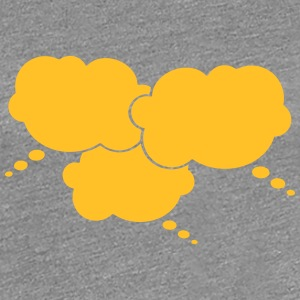 3 Thought Bubbles T-shirts - Vrouwen Premium T-shirt