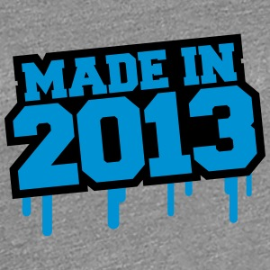 Made In 2013 T-shirts - Dame premium T-shirt