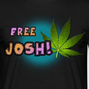 Free Josh! T-shirt  - T-skjorte for menn