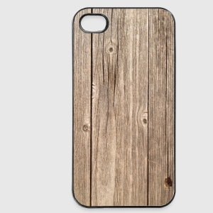 Holz Handycase Smartphone/Tabletcover Handy & Tablet Hüllen - iPhone 4/4s Hard Case