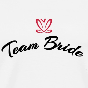 Team Bride (2c) T-Shirts - Men's Premium T-Shirt