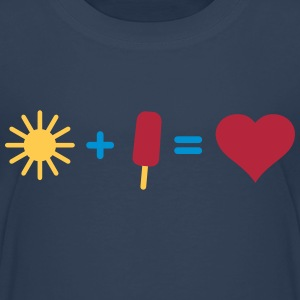 i love sun and ice Shirts - Kids' Premium T-Shirt