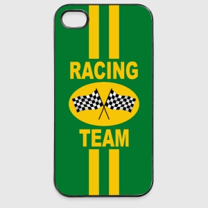 coque smartphone UK racing team - Coque rigide iPhone 4/4s