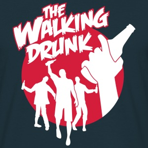 The Walking Drunk T-shirts - Mannen T-shirt
