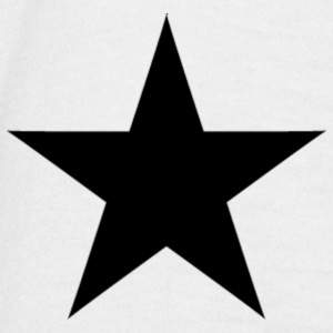 ster star T-shirts - Mannen T-shirt