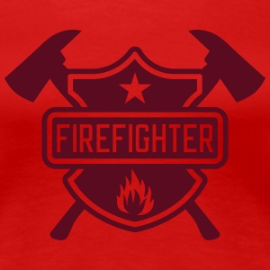 Firefighter T-Shirts - Frauen Premium T-Shirt