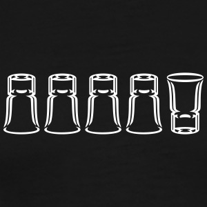 Schnapsglaeser / shot glasses (1c) T-Shirts - Men's Premium T-Shirt