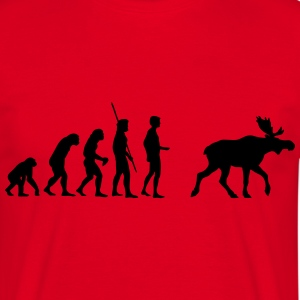 Evolution Moose  T-shirts - T-shirt herr