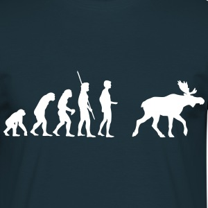 Evolution Moose  Tee shirts - T-shirt Homme
