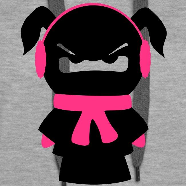 winterfestes Ninjamädel