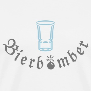 Schnapsglas / shot glass (1c) T-Shirts - Men's Premium T-Shirt