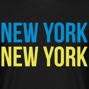 new york new york T-shirts - Herre-T-shirt