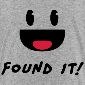 Geocaching - Found it! T-shirts - Premium-T-shirt barn