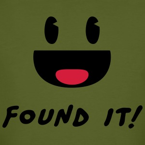 Geocaching - Found it! T-shirts - Mannen Bio-T-shirt