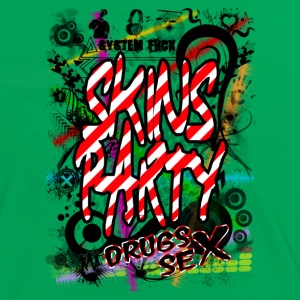 skins party Tee shirts - T-shirt contraste Femme
