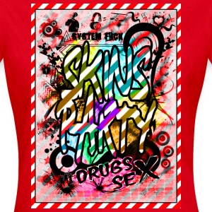 skins party Tee shirts - T-shirt Femme