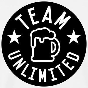 Team unlimited Tee shirts - T-shirt Premium Homme