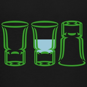 Drei Schnapsgläser / three shot glasses (2c) T-Shirts - Teenager Premium T-Shirt