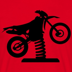 Losse Endurocross  T-shirts - Mannen T-shirt