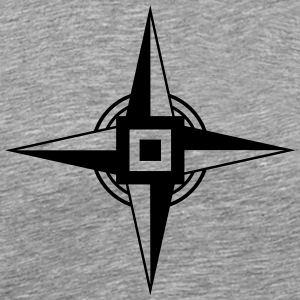 Earth Star, Hex Sign T-Shirts - Men's Premium T-Shirt