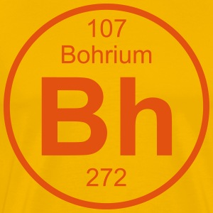 Bohrium (Bh) (element 107) - Men's Premium T-Shirt