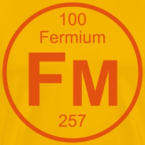 Fermium (Fm) (element 100) - Men's Premium T-Shirt