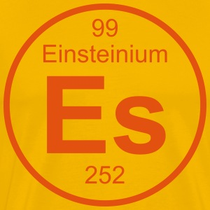 Element 99 - es (einsteinium) - Full (round) T-skjorter - Premium T-skjorte for menn