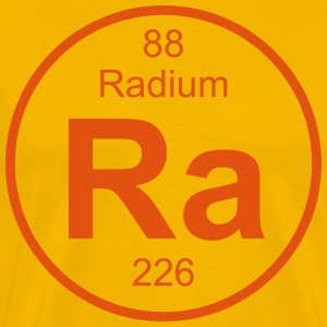 Radium (Ra) (element 88) - Men's Premium T-Shirt