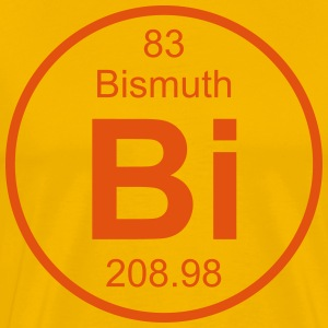 Bismuth (Bi) (element 83) - Men's Premium T-Shirt