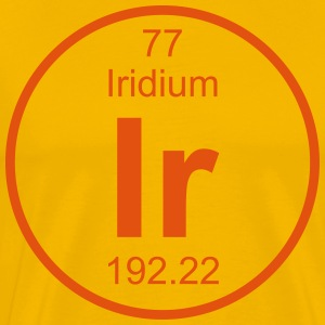 Iridium (Ir) (element 77) - Men's Premium T-Shirt