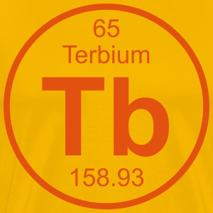 Terbium (Tb) (element 65) - Men's Premium T-Shirt