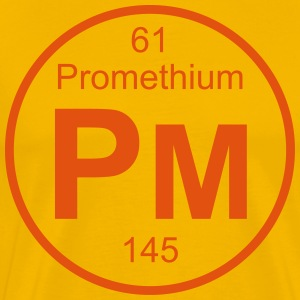 Promethium (Pm) (element 61) - Men's Premium T-Shirt