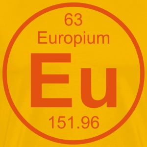 Europium (Eu) (element 63) - Men's Premium T-Shirt