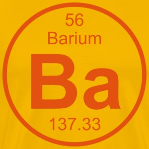 Element 56 - ba (barium) - Full (round) T-skjorter - Premium T-skjorte for menn