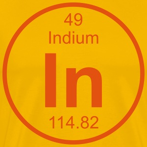 Indium (In) (element 49) - Men's Premium T-Shirt
