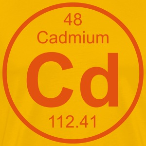 Cadmium (Cd) (element 48) - Men's Premium T-Shirt