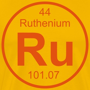 Ruthenium (Ru) (element 44) - Men's Premium T-Shirt