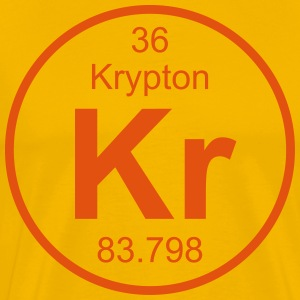 Element 36 - kr (krypton) - Full (round) T-Shirts - Männer Premium T-Shirt