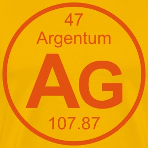 Argentum (Ag) (element 47) - Men's Premium T-Shirt