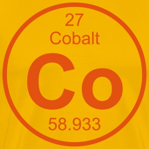 Cobalt (Co) (element 27) - Men's Premium T-Shirt