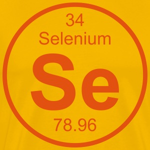 Selenium (Se) (element 34) - Men's Premium T-Shirt