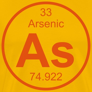 Arsenic (As) (element 33) - Men's Premium T-Shirt