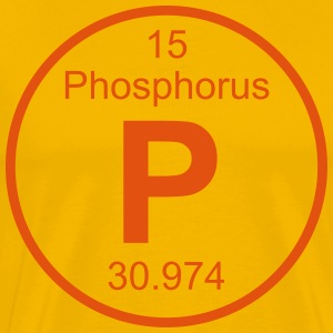 Phosphorus (P) (element 15) - Men's Premium T-Shirt