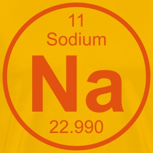 Sodium (Na) (element 11) - Men's Premium T-Shirt