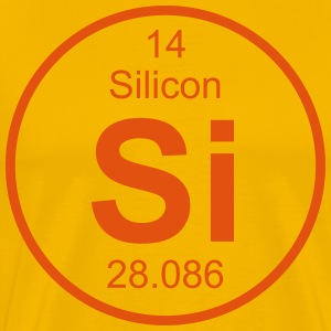 Element 14 - si (silicon) - Full (round) Tee shirts - T-shirt Premium Homme
