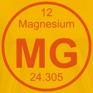 Element 12 - mg (magnesium) - Full (round) T-Shirts - Männer Premium T-Shirt