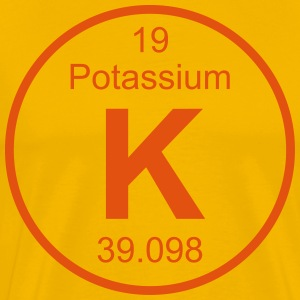 Potassium (K) (element 19) - Men's Premium T-Shirt