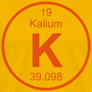 Kalium (K) (element 19) - Men's Premium T-Shirt