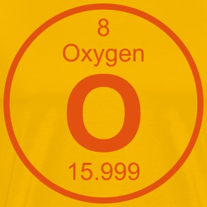 Oxygen (O) (element 8) - Men's Premium T-Shirt