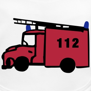 fire engine 112 Accessories - Baby Organic Bib